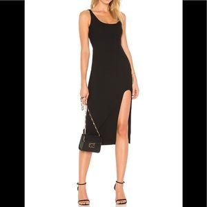 cinq a sept Breena Sleeveless High-Slit Midi Dress